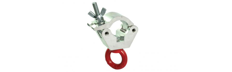 Doughty Half Coupler Hanging Clamp, Self-colour 500kg