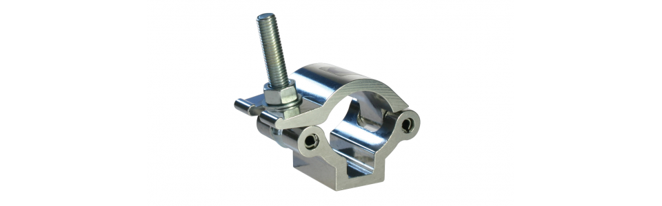 Doughty Half Coupler Lightweight Clamp, Self-colour