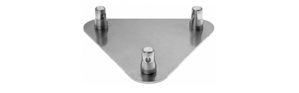 Prolyte Triangular 30 Series Truss Baseplate