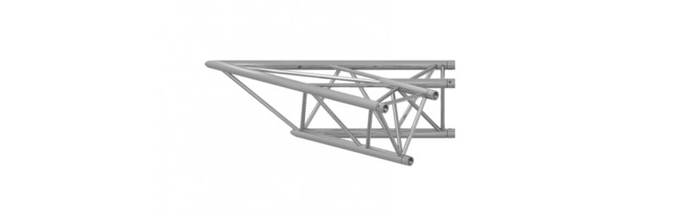 Prolyte Triangular 40 Series 2-Way Corner, 30 Degree