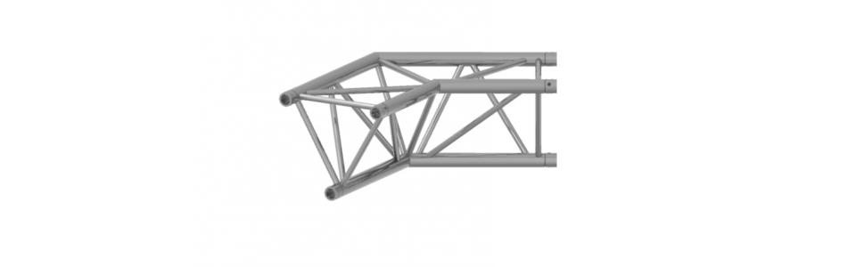Prolyte Triangular 40 Series 2-Way Corner, 120 Degree