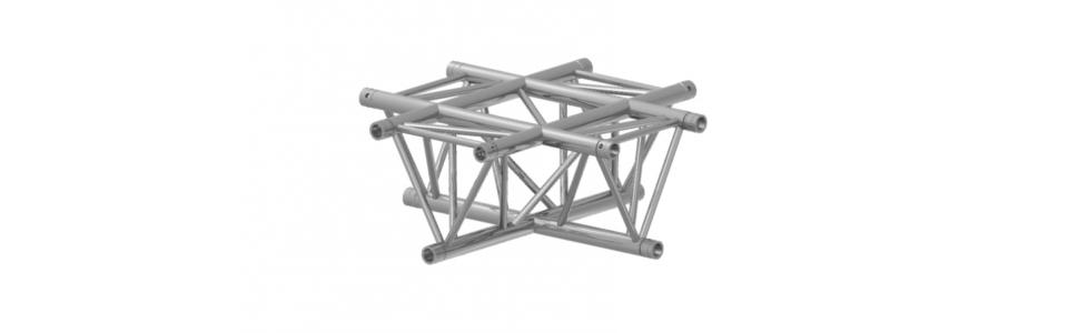 Prolyte Triangular 40 Series 4-Way Corner, Cross