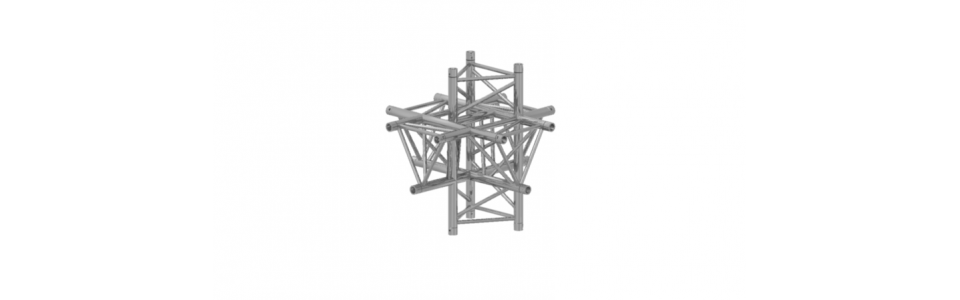Prolyte Triangular 40 Series 6-Way Corner