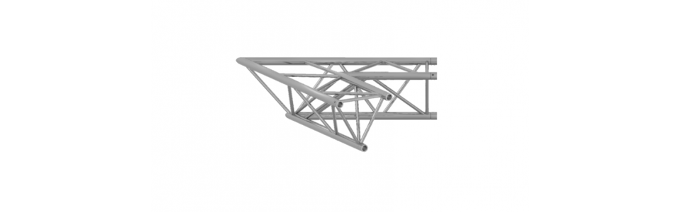 Prolyte Triangular 30 Series 2-Way Corner, 45 Degree