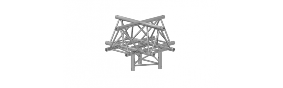 Prolyte Triangular 30 Series 5-Way Corner, Apex Up