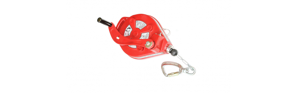 Fall arrestor Protecta AD515 - Self Retracting Fall Arrester With Rescue Winch